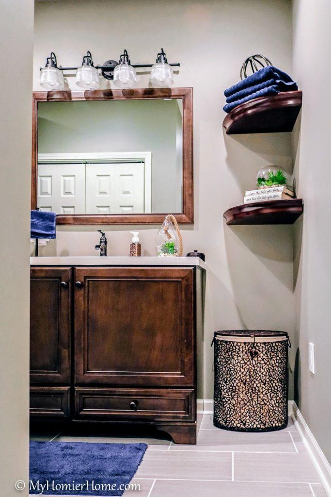 Creating a Basement Bathroom from Scratch