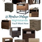 In the market to upgrade your bedroom side tables? These modern vintage nightstands will do just the trick. Read more here.