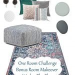 For Fall 2019's One Room Challenge, I'm completing our four-years-ignored bonus room! Currently this room is very lack luster, but check out my plans to make it into an all-ages fun and playful space.