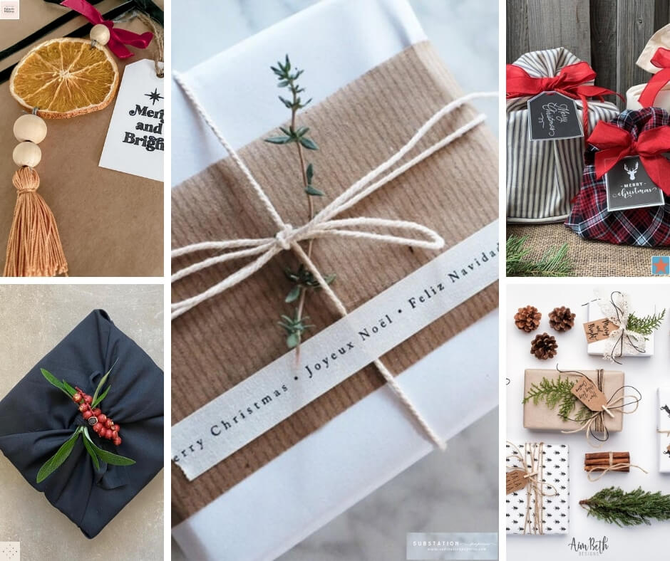 5 photos of Christmas Gift Wrapping ideas
