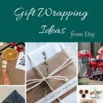 Picture of 5 gift wrapping ideas from etsy