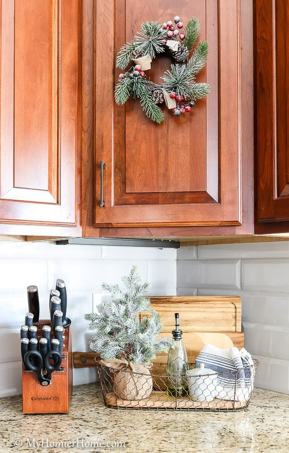 Kitchen cutting boards christmas home tour