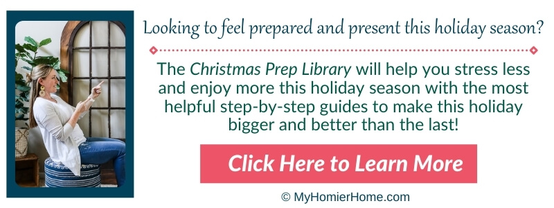 Christmas Prep Library Learn More