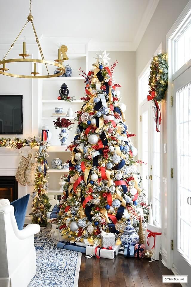 Citrine Living - Christmas Color Schemes Bonus Red and Blue copy
