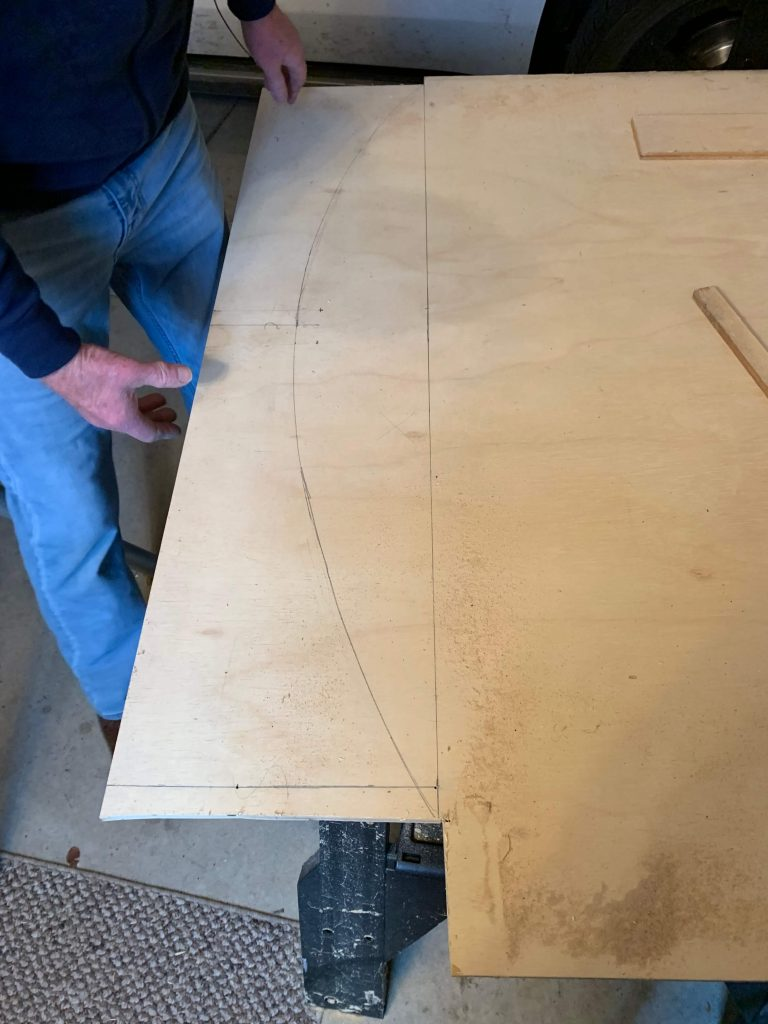 DIY archway cutting out
