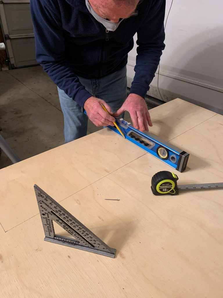 measuring your rectangle piece of wood