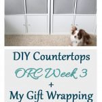 DIY countertops to the rescue! When you can't find exactly what you want, make it yourself! Check out the steps I took for my one room challenge.