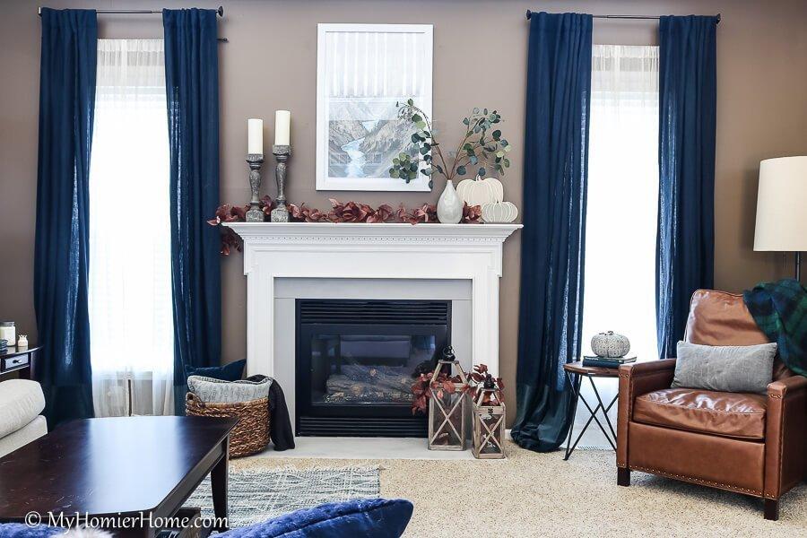 Living room fall inspiration