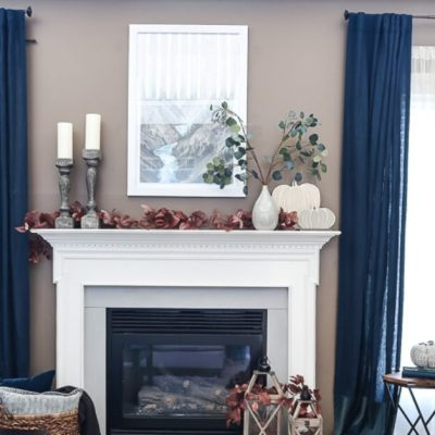 5 Must Have Fall Mantel Decor Items for your Fireplace