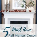 Looking for inspiration to spruce up your fireplace for Fall? These Fall mantel decor items are a definite must have. Check them out here.