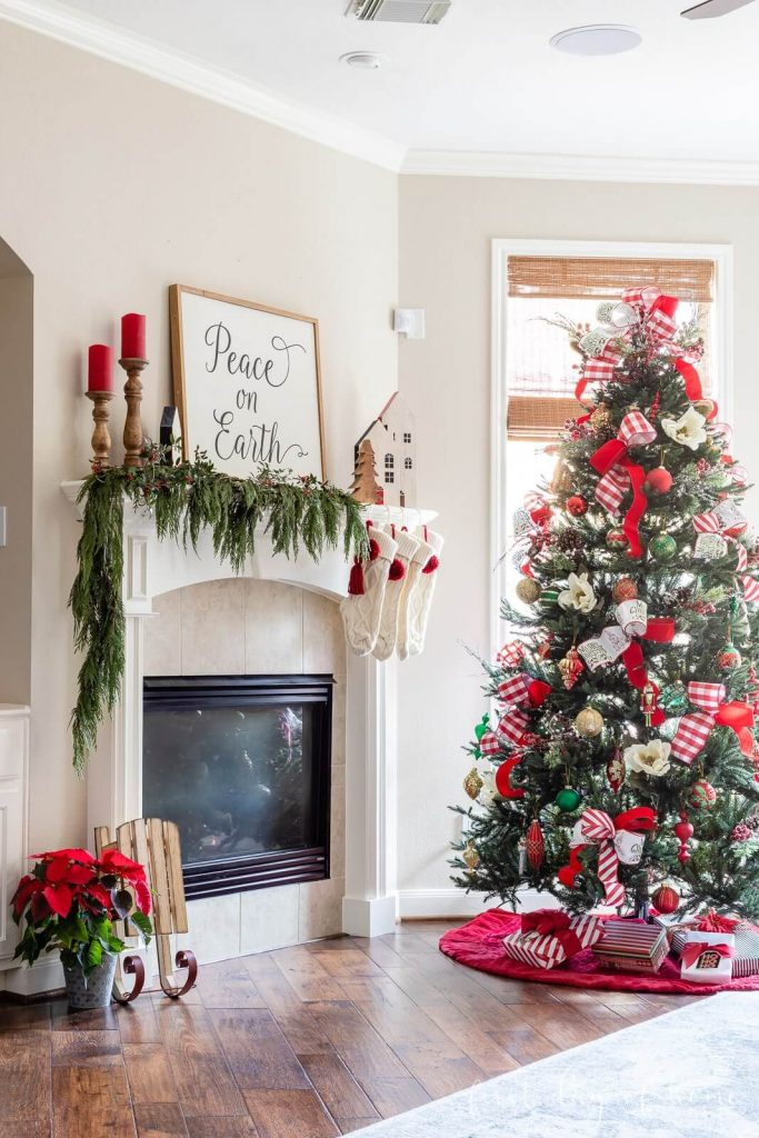 First Day of Home - Christmas Color Schemes Traditional