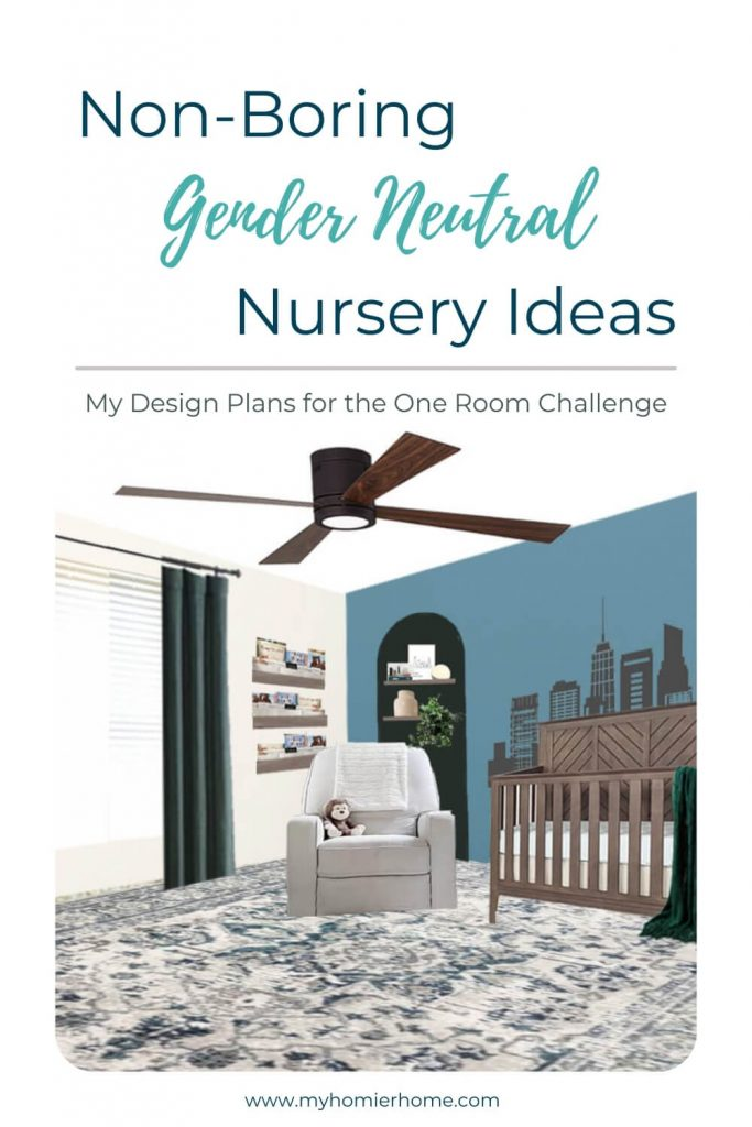 Waiting to find out the gender of your new baby? You can still set up a non-boring gender neutral nursery. You'll find all my gender neutral nursery ideas in today's post.
