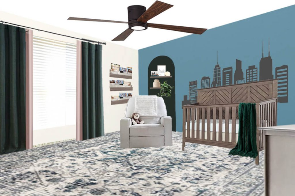 Gender Neutral Nursery Ideas - The Design Board View One if it's a girl