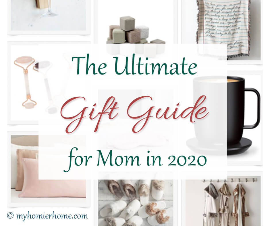 This gift guide is for moms written by moms. Show the moms in your life appreciation with any one of the gifts in this ultimate guide.