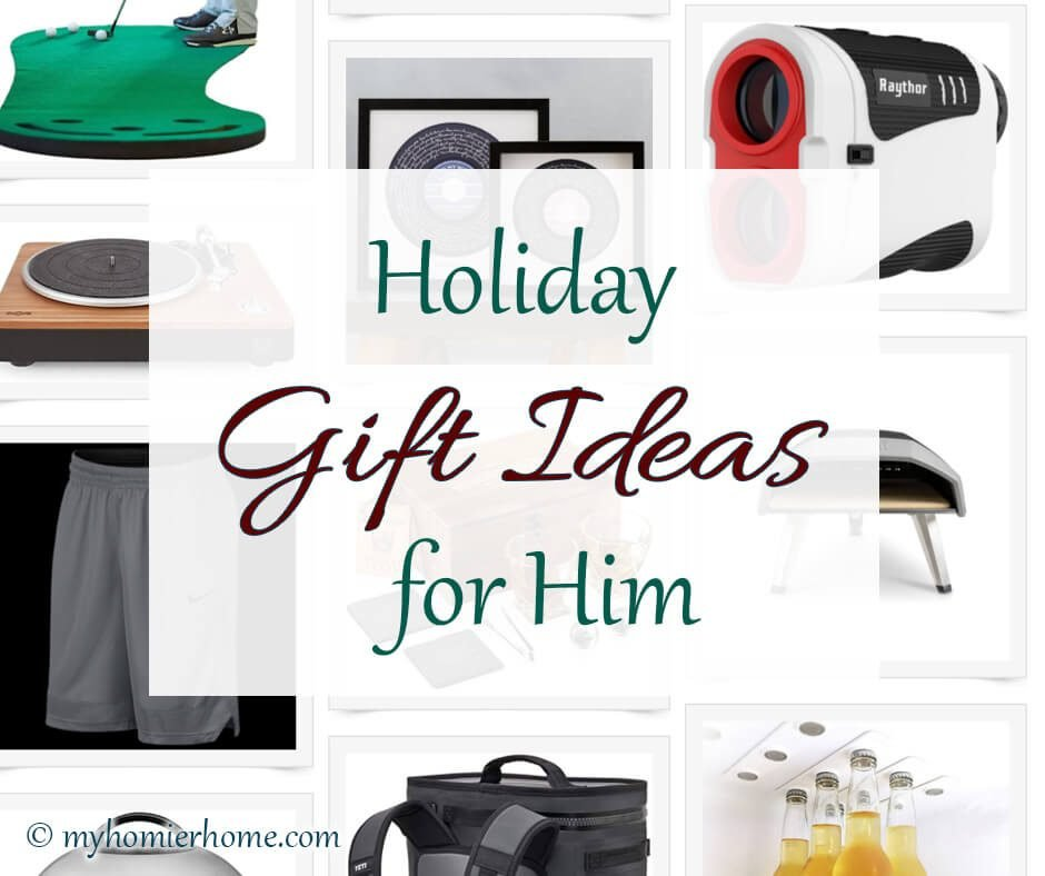 You'll love these gift ideas for the guy who has everything. Read more in today's post.