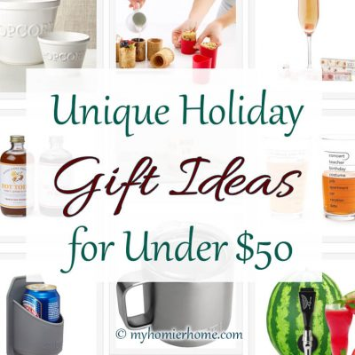 The 2020 Guide to Unique Holiday Gift Ideas Under $50