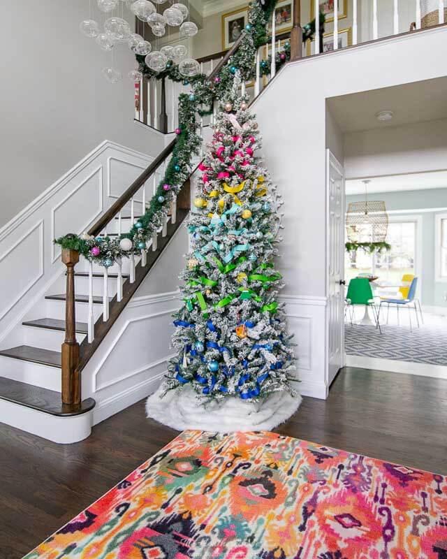Heathered Nest - Christmas Color Schemes Bonus Colorful