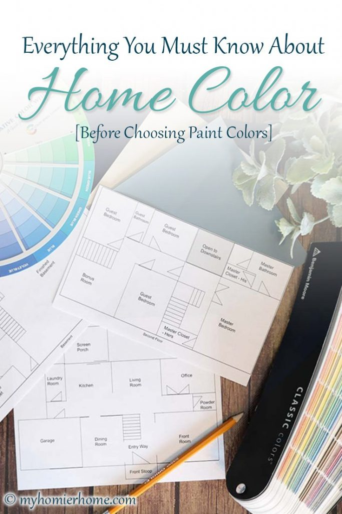 Everything you need to know about color before choosing a color scheme for your home.