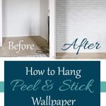 In this tutorial, I will give you the best tips on how to hang peel and stick wallpaper to transform any space. These tips will help you do it with ease!