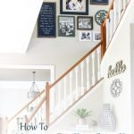 Looking for the best way to hang a gallery wall on your stairs? This tutorial has everything you need to know to make this daunting task a breeze including a printable checklist and video tutorial of how we did it!