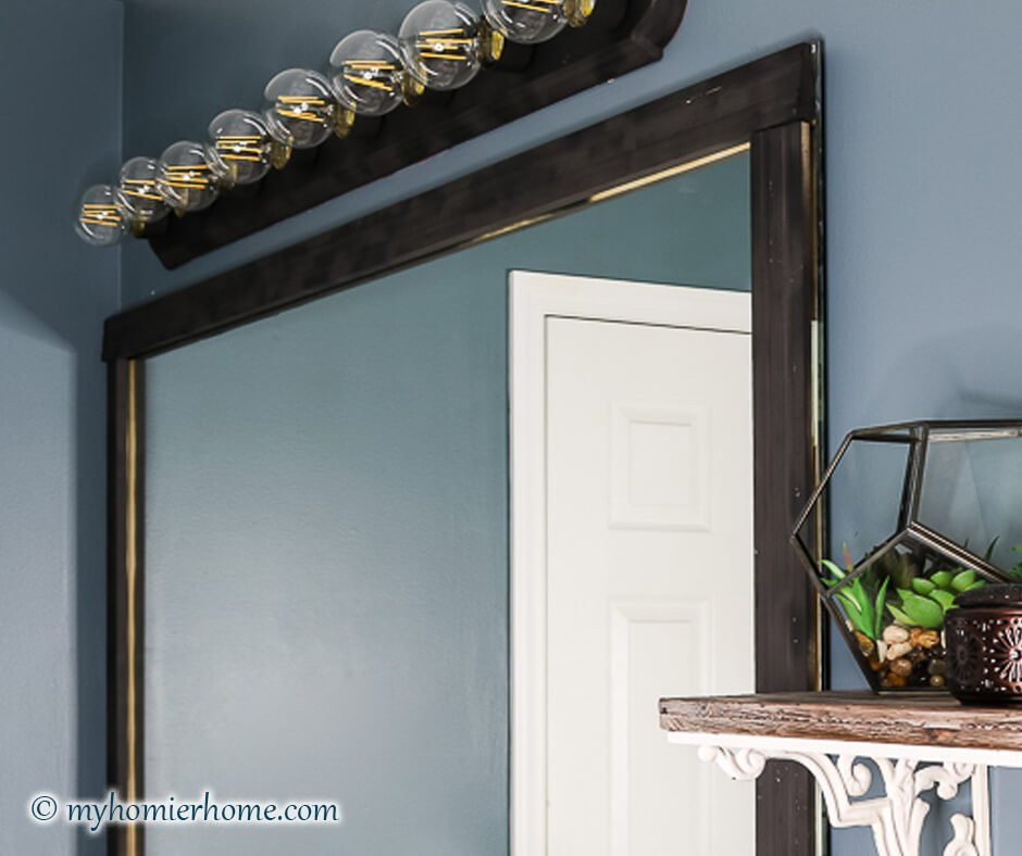 Do you have the old school Hollywood Lights in your Bathroom? Update them with this tutorial on how to spray paint a light fixture. Read more