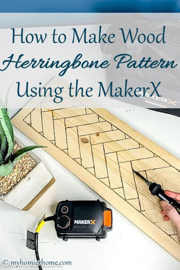 Want to etch a herringbone pattern? Using the MaxerX tool I will show you how to etch and wood burn your wood art with ease.