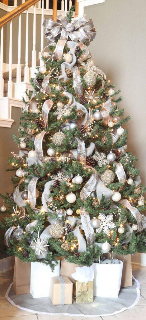 Interior Design Info - Christmas Color Schemes Neutral