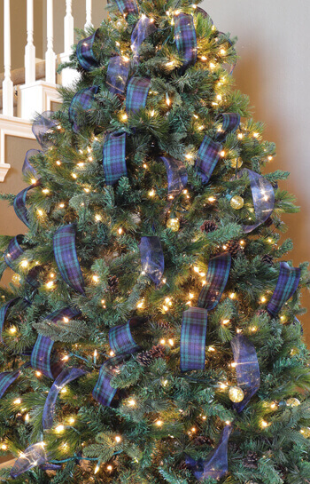 Interior Design Info - Christmas Color Schemes blue and green