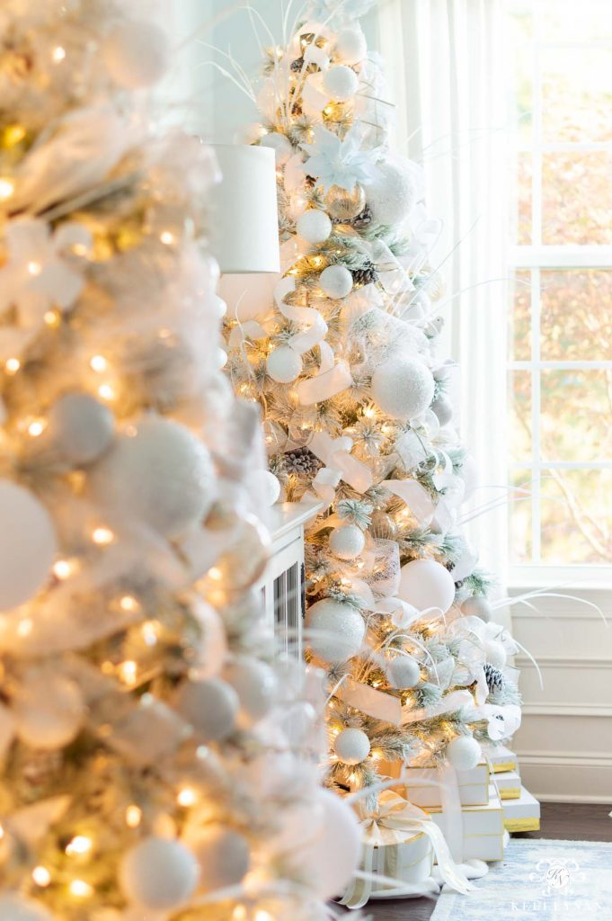 Kelley Nan - Christmas Color Schemes Blue and White