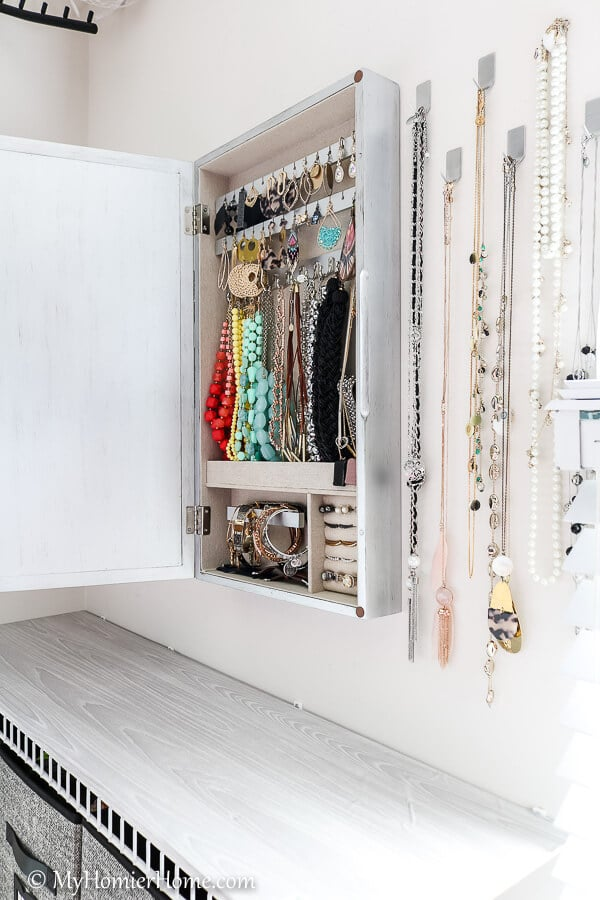 Better organization for my jewelry, so I can see what I have.