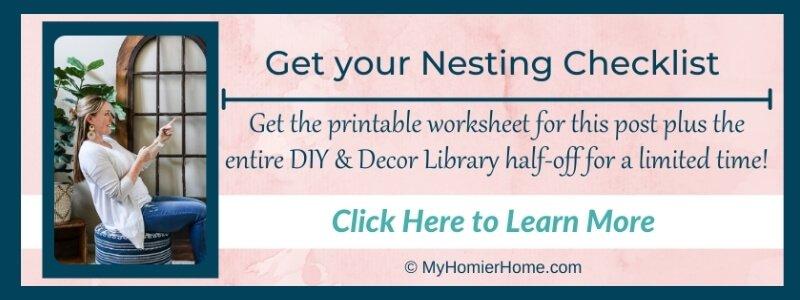 Nesting Checklist Opt In