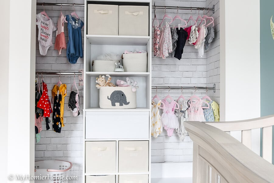 Looking for nursery inspiration? Check out our serene, safari-themed baby girl nursery reveal! The colors are relaxing & inviting!