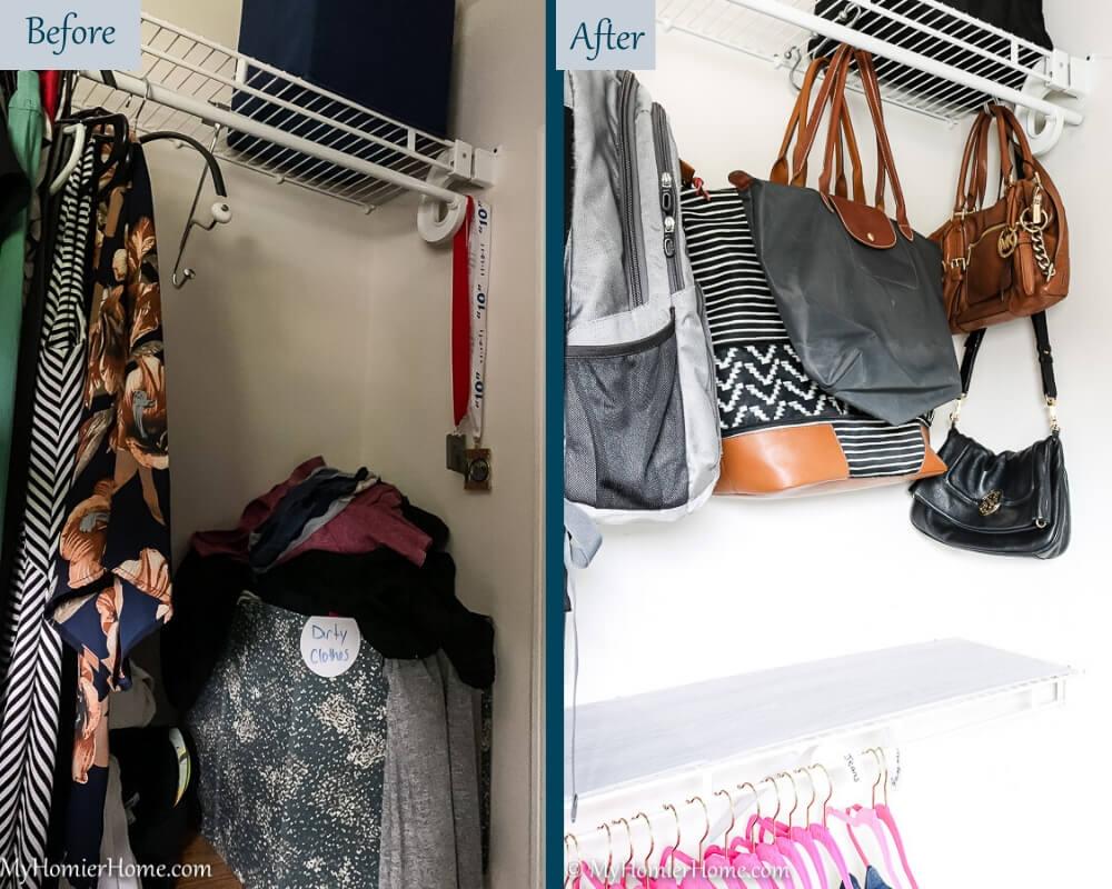 Organize Master Closet - Before & After 6