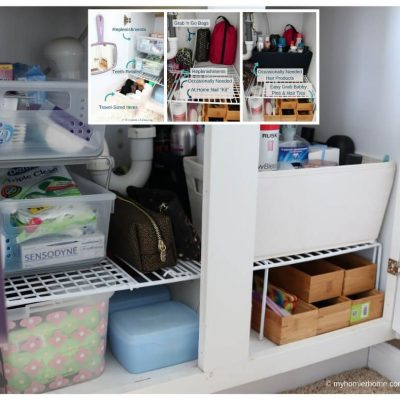 7 Steps to Organizing Under the Bathroom Sink – Once and For All