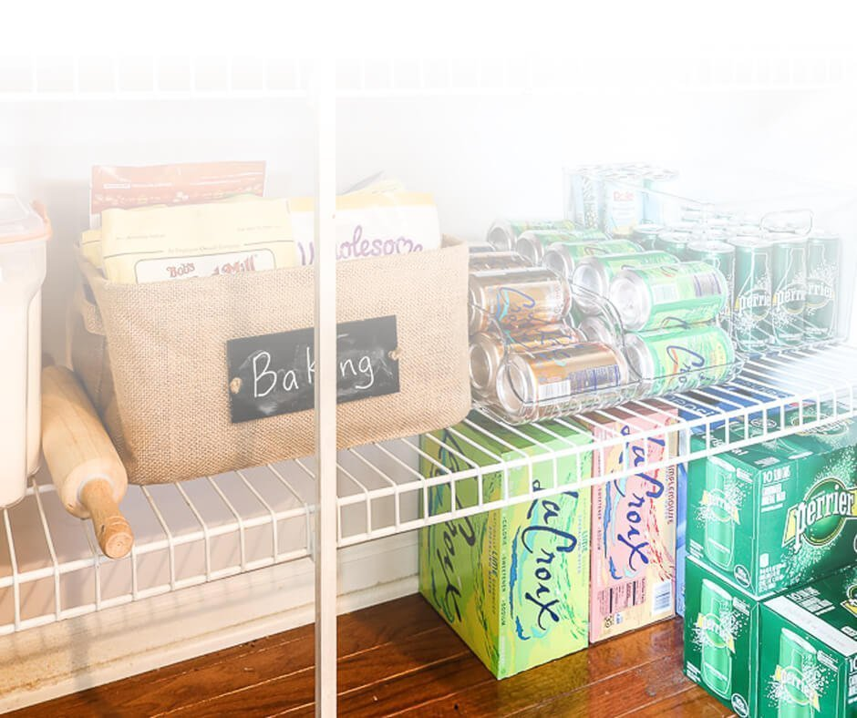 Struggling to organize your pantry? These 3 secrets helped me create a functioning pantry for the long-haul and they will help you too!