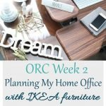 Planning the right IKEA furniture for your Home Office/Craft Room can be daunting. For my Spring One Room Challenge week 2, I'm sharing the steps I took to plan with IKEA furniture and the paint color I chose!