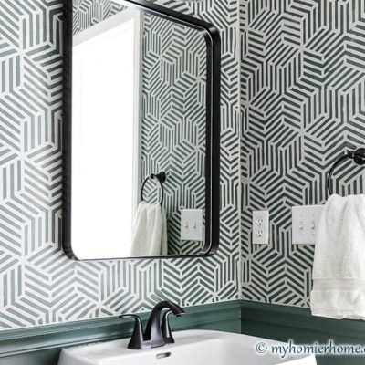 Powder Room Makeover | Phase 2