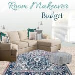 Stuck on where to begin creating a room makeover budget? These 7 steps will guide you through the easy path of making your own room makeover budget!