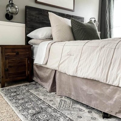 What is the Best Rug Placement in a Bedroom?