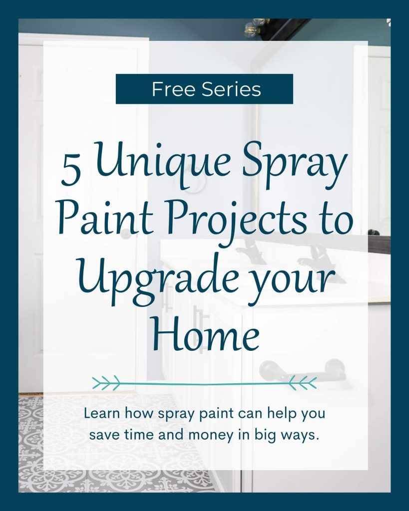 5 unique spray paint projects to upgrade your home