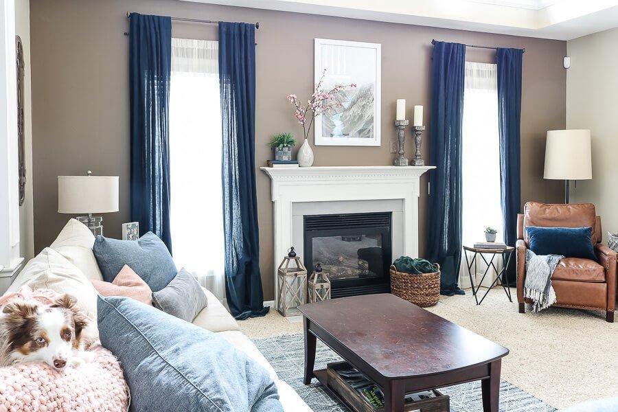 Spring Decor Ideas  for the living room
