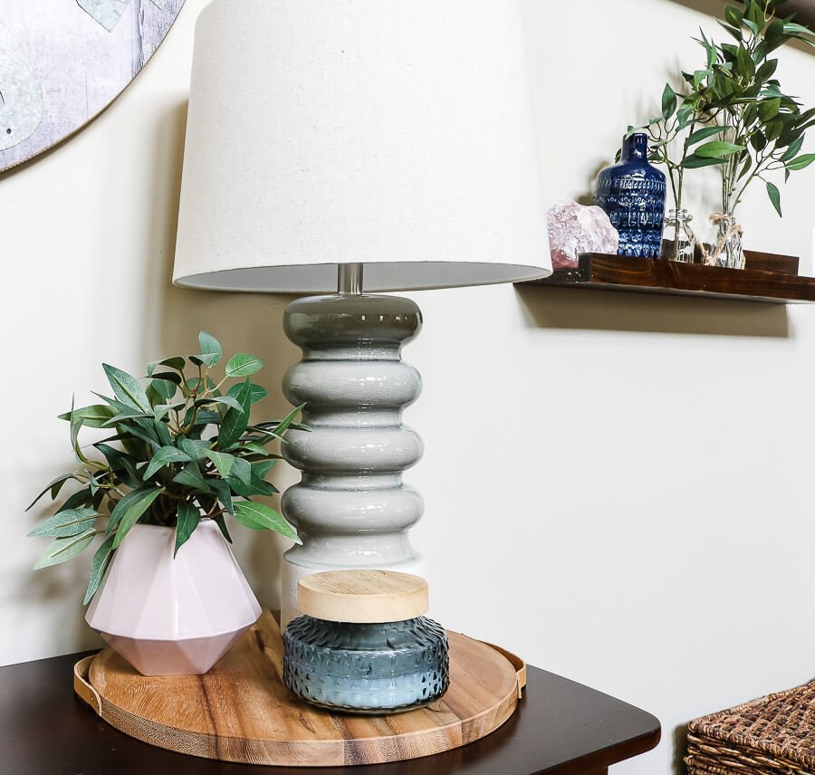 light pink, light green, and light blue spring decor ideas