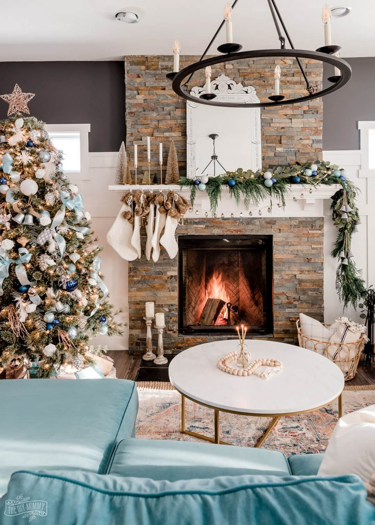 The DIY Mommy - Christmas Color Schemes Blue and Green