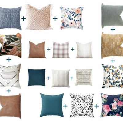 How to Mix and Match Throw Pillow Patterns