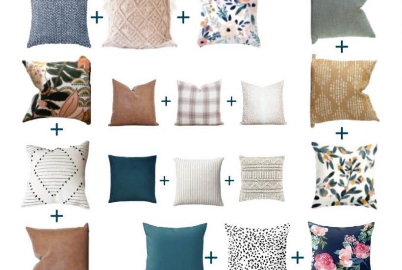 throw pillow pattern formulas