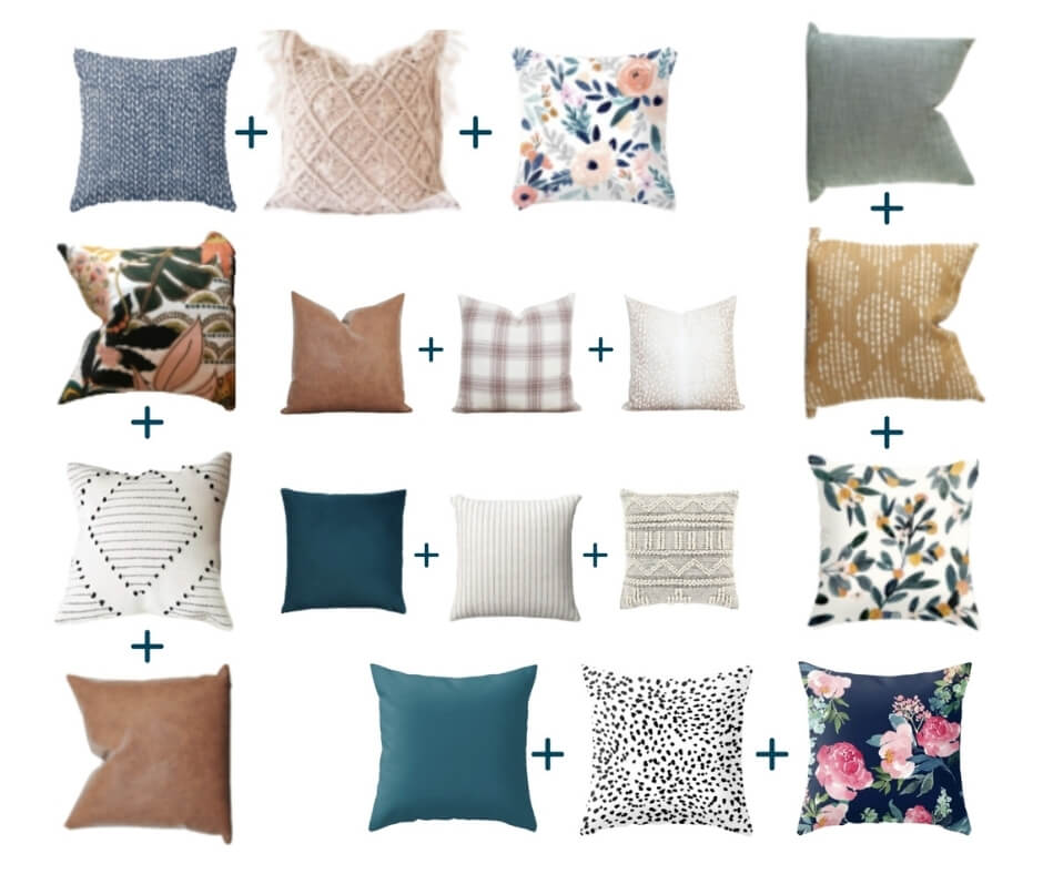 throw pillow pattern formulas
