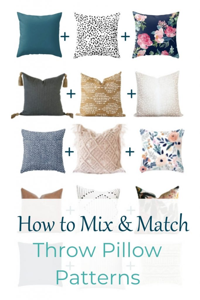 How to Mix and Match Throw Pillow Patterns Like a Pro