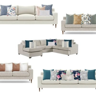 The Ultimate Guide to Throw Pillow Sizes & Arrangements for the Couch