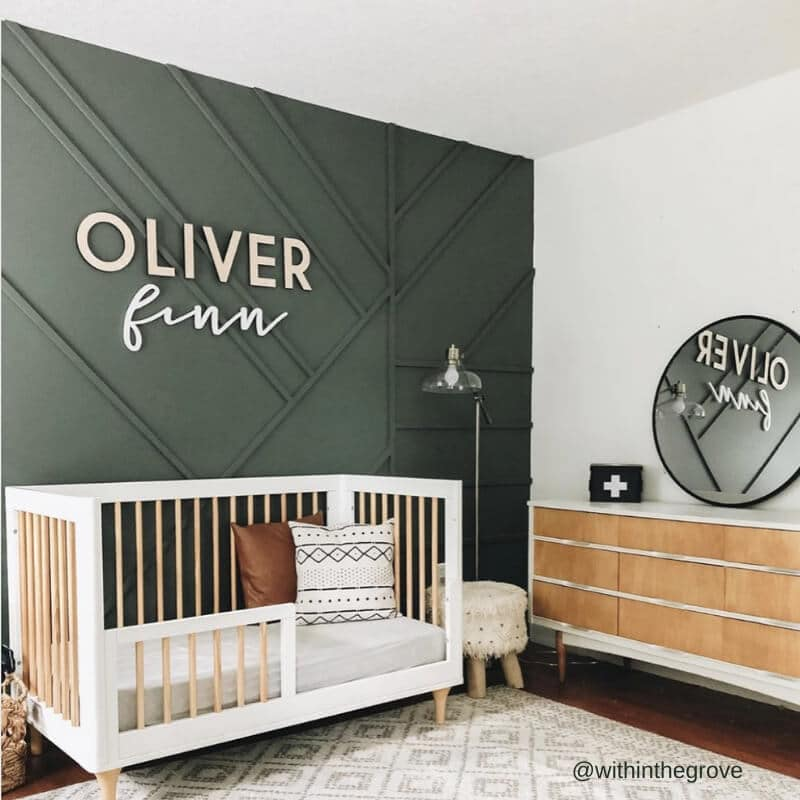 Check out @withinthegrove on instagram for more nursery inspiration