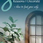 why decorate